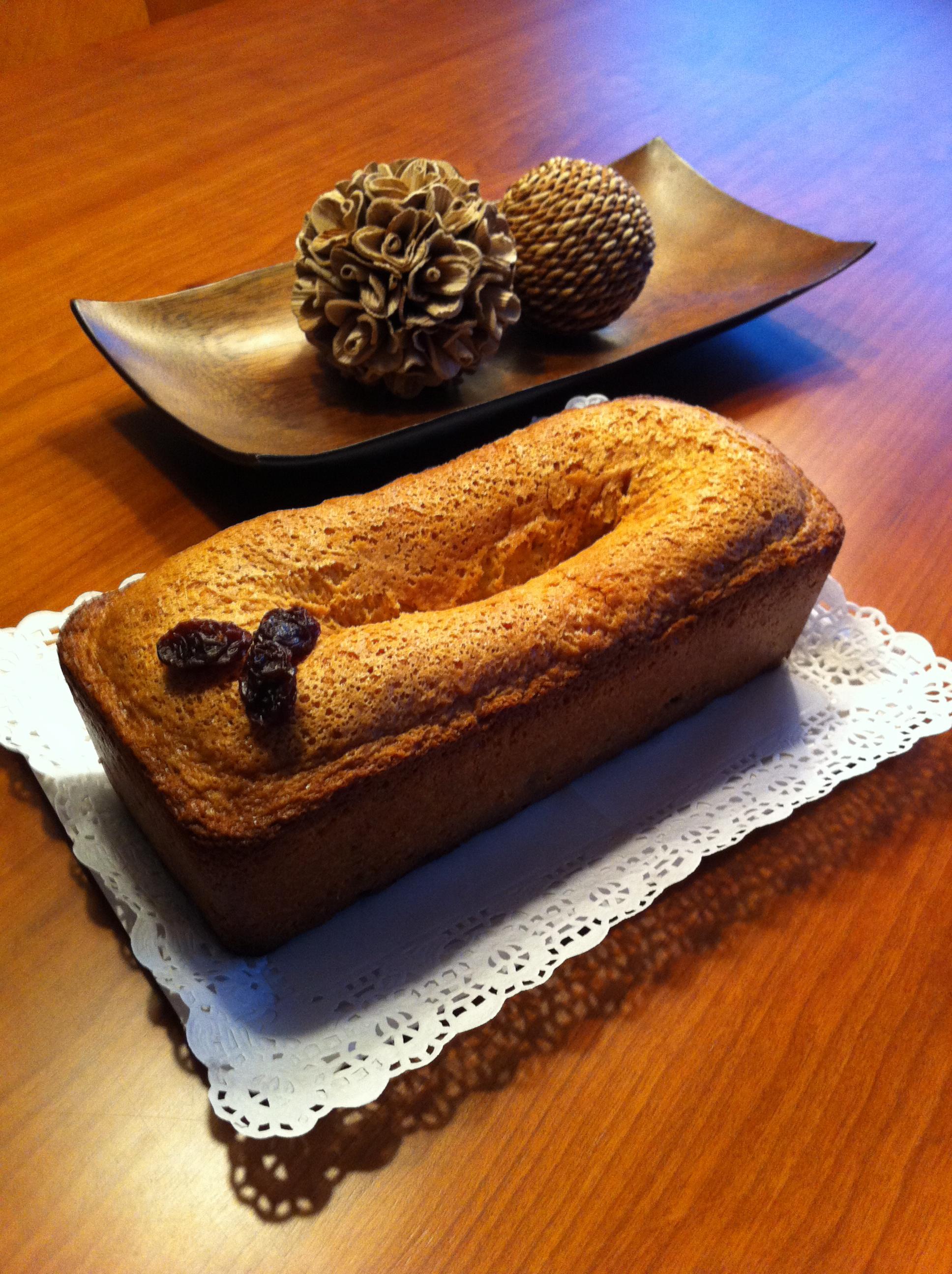 PLUM CAKE CON UVAS PASAS